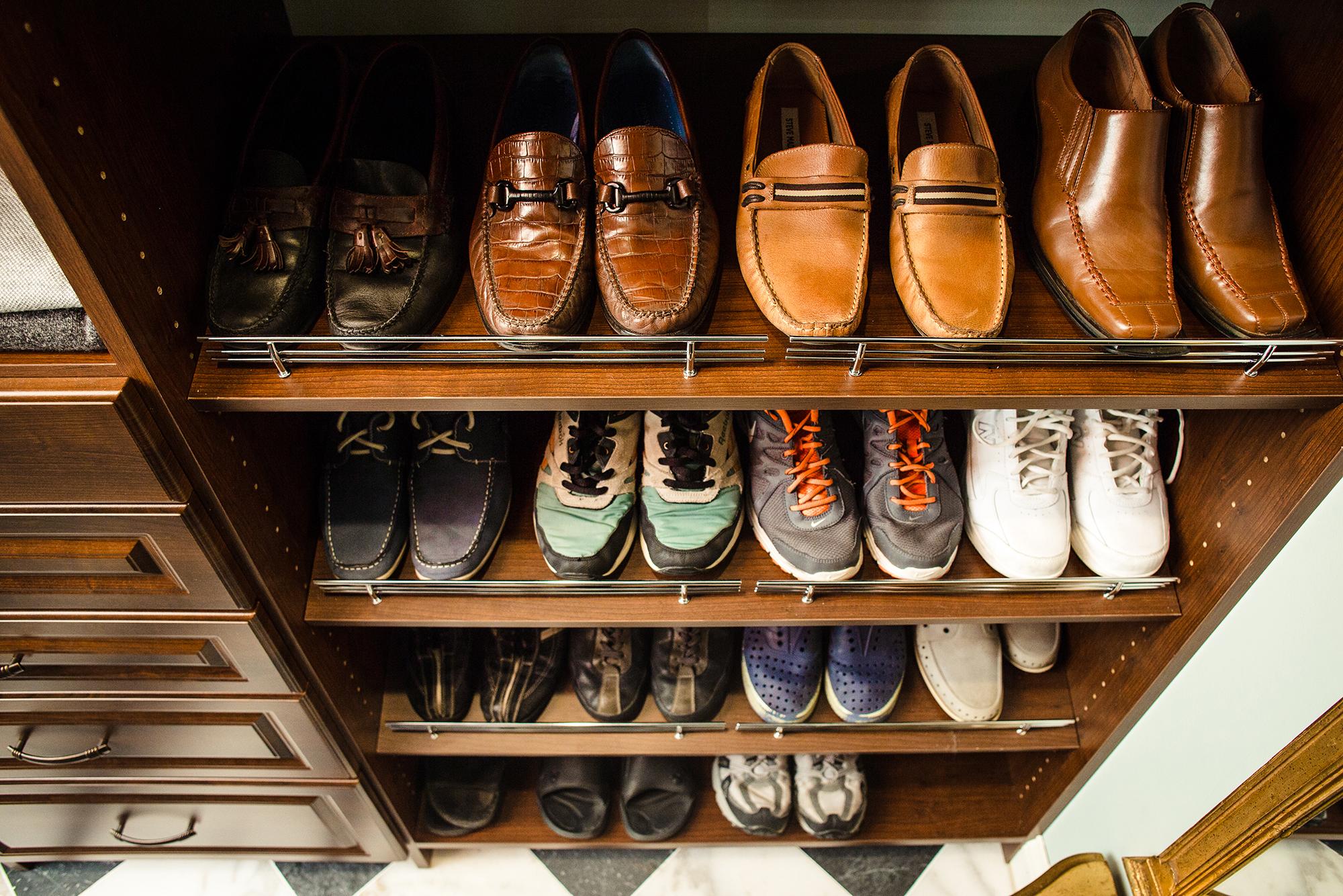 Closets by McKenry Shoe Closet